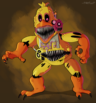 Twisted Chica by FireFoop