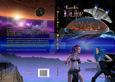 Fourth Key of Kalijor Cover by Paullell
