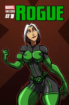ROGUE FAN COVER #1 by Sabrerine911