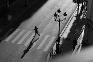 Street shadows by StefanyKK