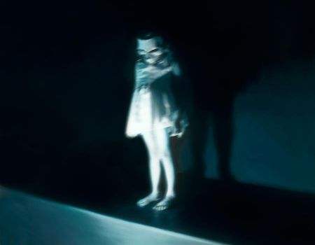 Stage Fright by gottfriedhelnwein