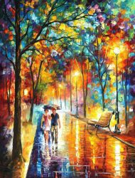 Inside The Dream by Leonid Afremov by Leonidafremov
