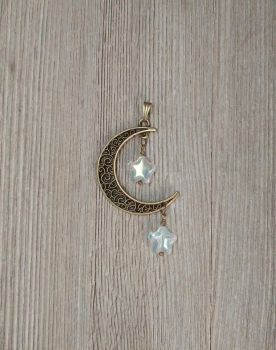 My moon and stars - Bronze by WinterFlightDesign