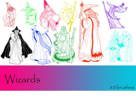 Wizards by TD-Brushes