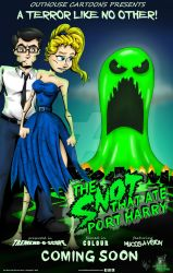 The Snot That Ate Port Harry second poster by OuthouseCartoons