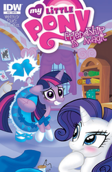 My Little Pony issue 36 RI cover by MaryBellamy