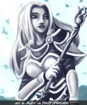 Lux the Lady of Luminosity by HappyWasabii