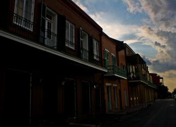 Dusk in the Lagniappe City by LeeAnneKortus