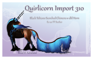 Quirlicorn Custom Import 310 by Astralseed