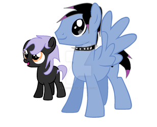 DOLL: father and son by equinestuff