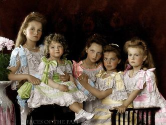 Imperial children in 1906 by VelkokneznaMaria
