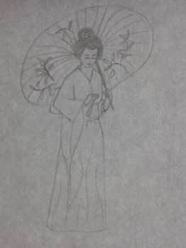Traditional chinese woman by Sharon1997