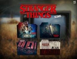 Stranger Things Folder Icon II by Eanzito