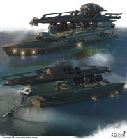 ships concept low by samice