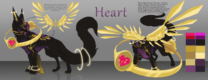 Heart ~ReDesign Contest Entry~ by Spirit2quil