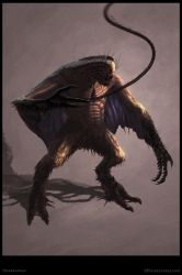 Dharkanian Creature Concept - Poster by Cloister