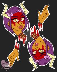 Goretober Day 10 - Chopped by FlavorlessMuffin