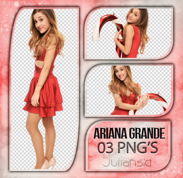 Pack PNG #08 ~Ariana Grande~ by juliahs1D