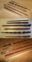 Carved Harry Potter Wands by Algorithmic