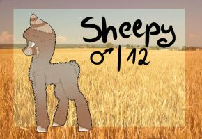 Sheepy ref sheet by RileyOwO