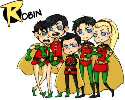 ROBINS by rosey-so-silly