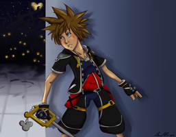 Sora Be Creepin by brittninja