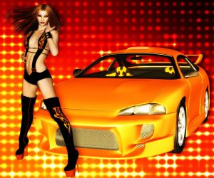 Hot Import Night by lowriderchick