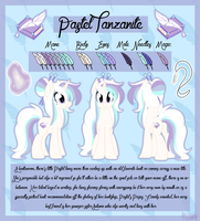 Pastel Tanzanite Ref by AmcthystPenguin