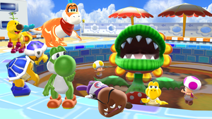 Pool Pollution Problem by Mario-and-Sonic-Guy