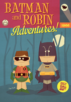 Batman And Robin Adventures by funky23