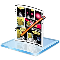 Windows 7 Comic Library Icon by Renegade78