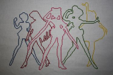 Sailor Moon Stitch-A-Long WIP by NicMarRay