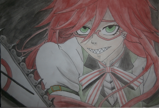Grell sutcliff by Evil-Alice8