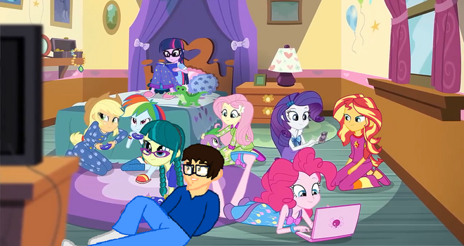 A Slumber Party of Friends by BrandonTheEpicPony99