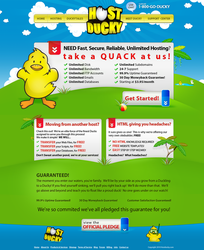 Hosting Vector Layout Design by dRoop