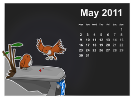 Calendar May 2011 by doctormo