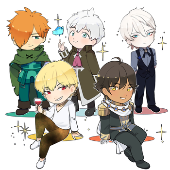 Fate Boys by magicalondine