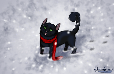 Snow  [art trade] by VictoriaAscencio