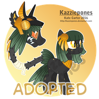 Egypt Themed Primal Plant Pony  [CLOSED] by Kazziepones