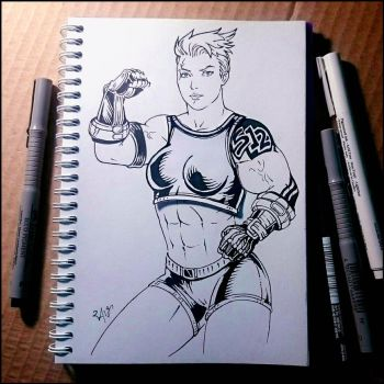 Instaart - Zarya (NSFW on Patreon) by Candra