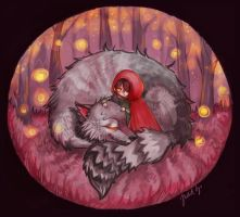 Who'd be afraid of the big bad wolf? by JuditG