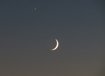 Moon+jupiter by IcyPheonix