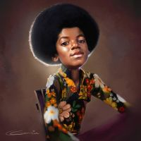 Lil MJ by NightshadeBerry