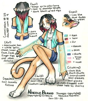 Commission 9 - Nicole ref by Nanuka