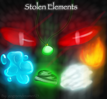 Stolen Elements: Comic Cover by GalaxyBlues