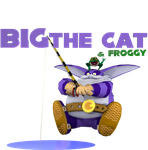 Big the Cat and Froggy. by Spinosaurusking875
