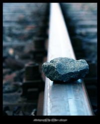 Alone On The Rails by father-sergio