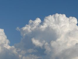Wild Blue Yonder Sky Clouds 25 by FantasyStock