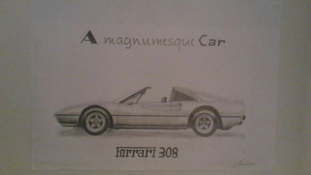 A magnumesque Car by LakitaCuvier