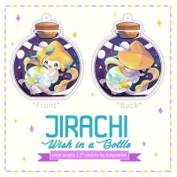 Jirachi Clear Charms